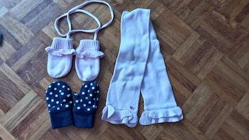 Lot gants écharpe bébé