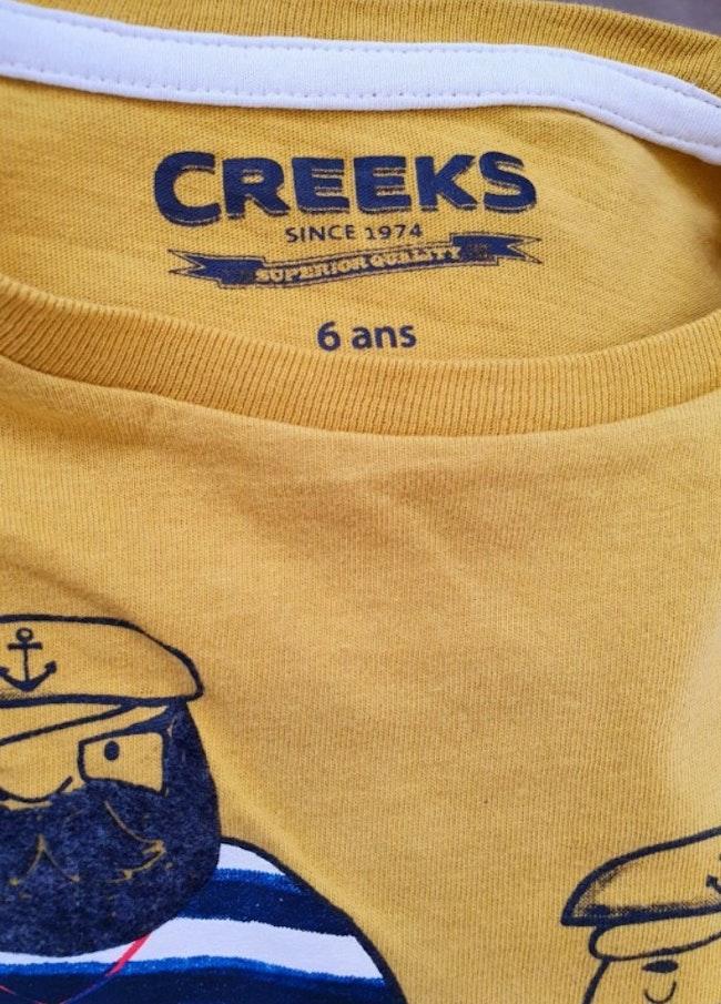 T-shirt 6 ans Creeks
