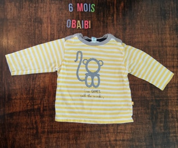 Tee-shirt 6mois