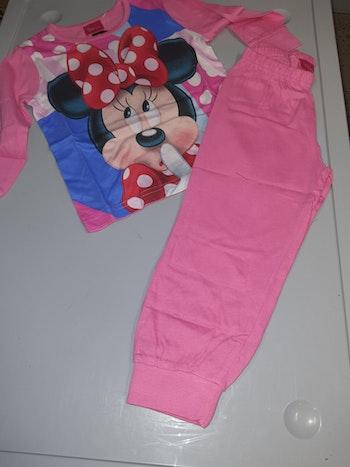 Pyjama minnie rose foncé 8 ans
