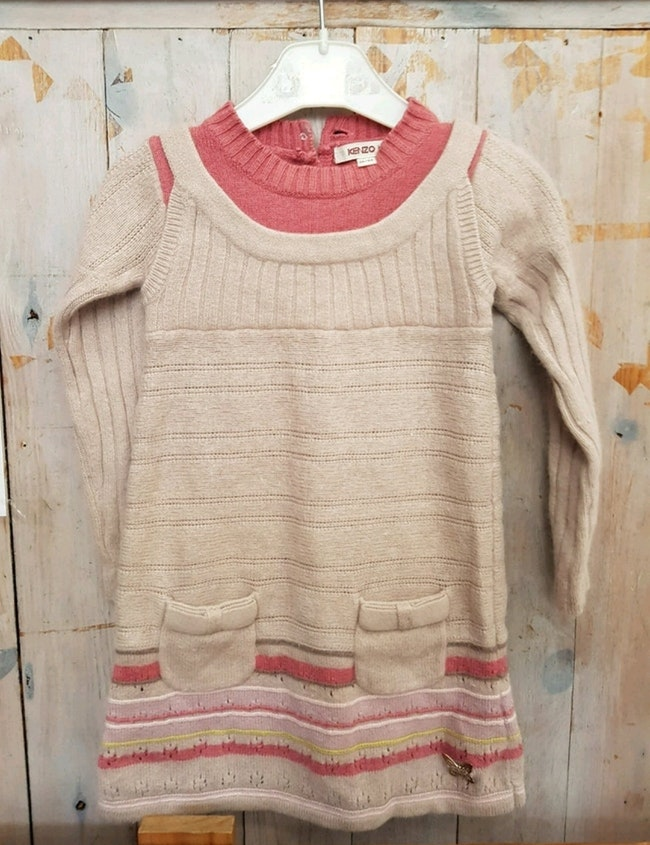Robe en laine Kenzo