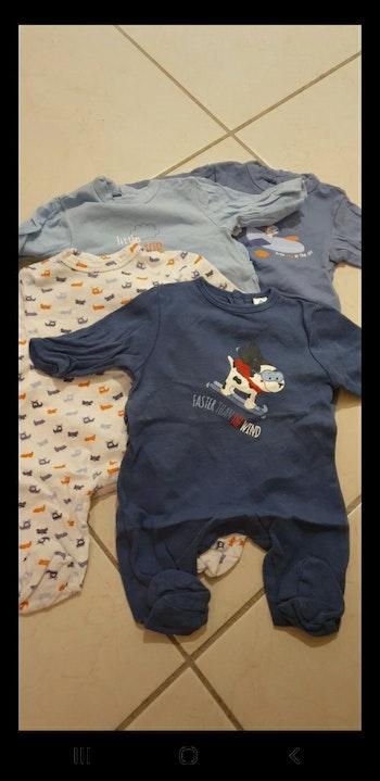 4 pyjamas 0 mois léger