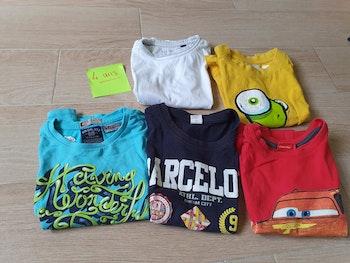 Lot de 5 tee-shirts MC 4 ans