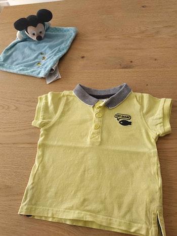 Polo jaune 6 mois
