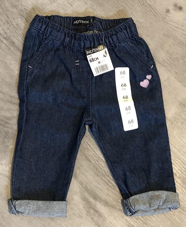 Pantalon style jeans bébé fille