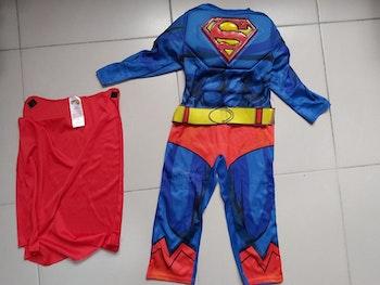 Déguisement Superman 3/4 ans