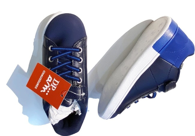 Chaussures bleues