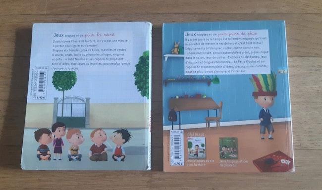 """2 livres """"Le petit Nicolas"""""""