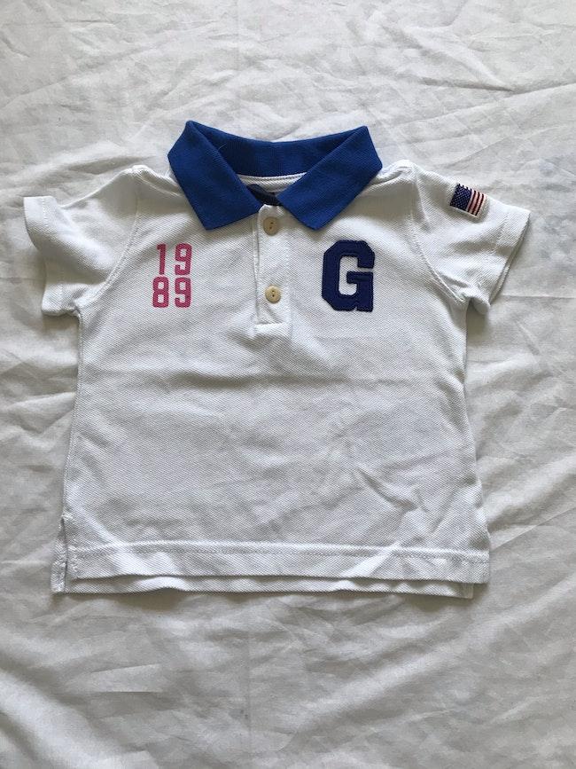 Polo Gap - taille 6/12 mois