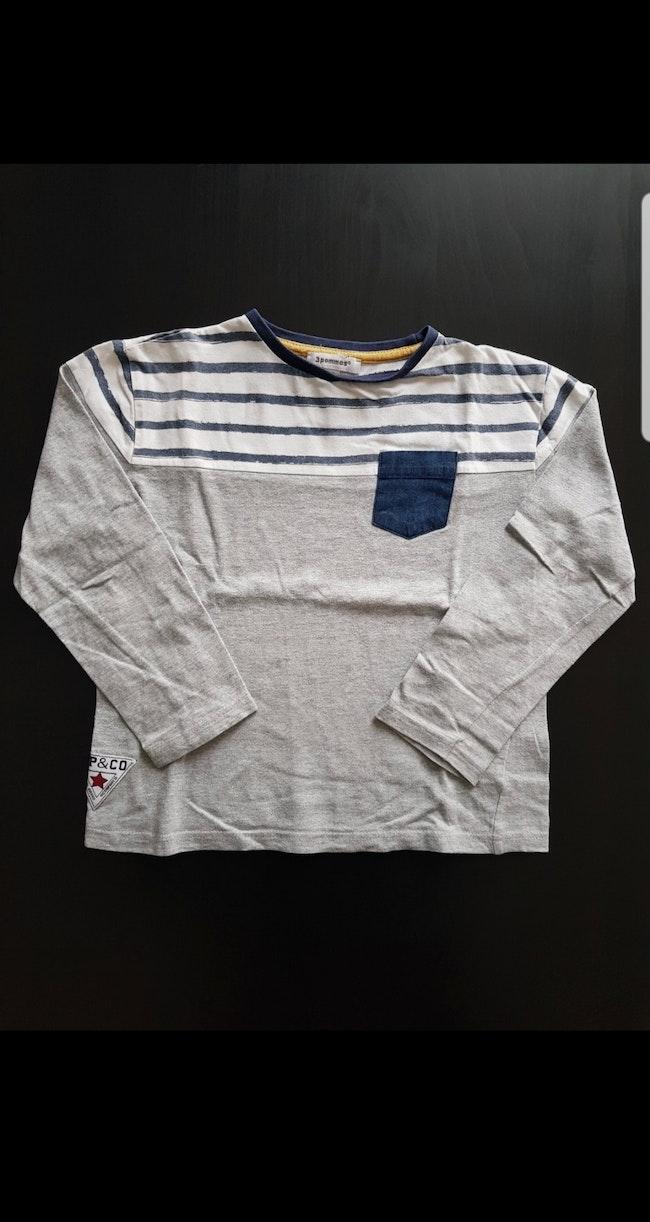 Tee-shirt ML enfant garçon 5-6 ans
