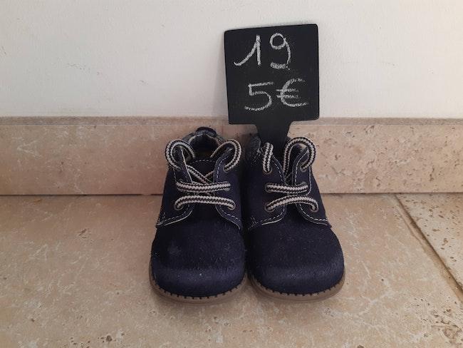 Chaussures garçon cuir