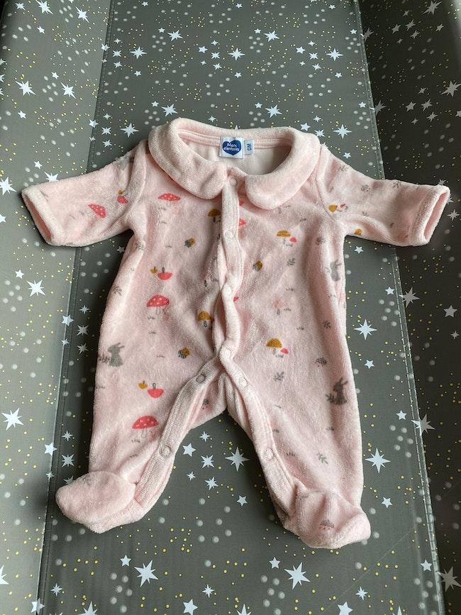 Pyjama mots d'enfant
