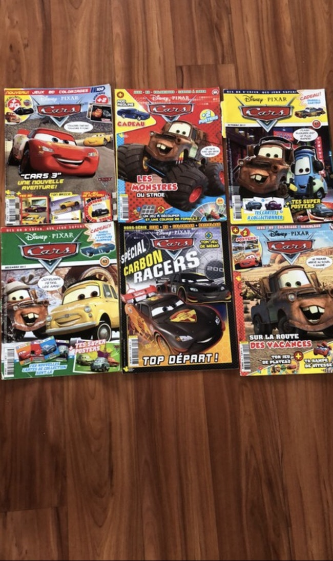 Lot magazine cars