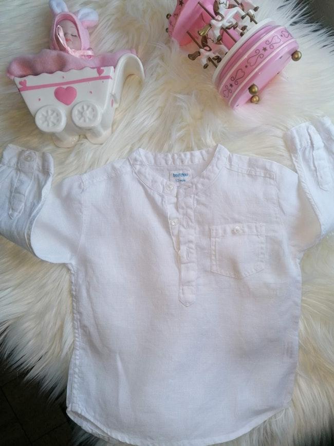 Chemise bébé 12 mois boutchos.