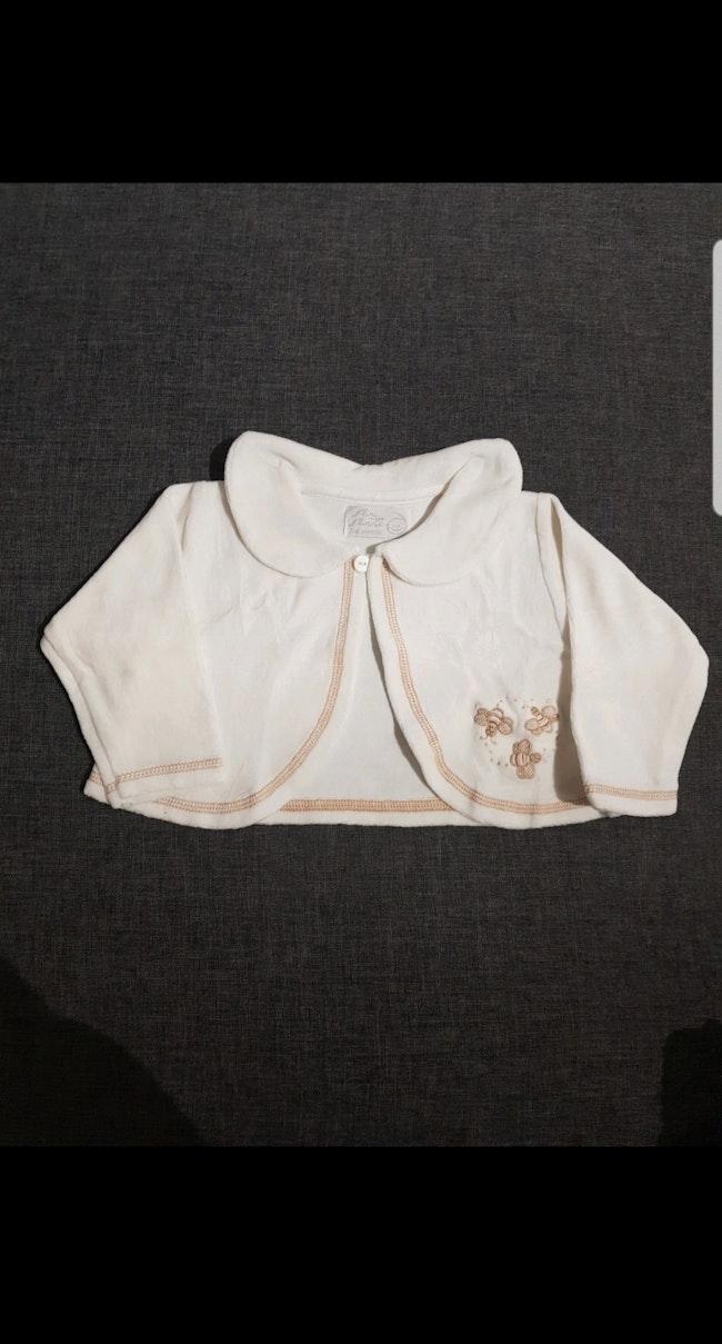 Boléro bébé fille 3-6 mois
