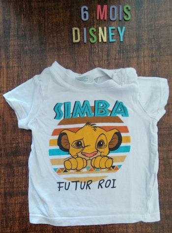 Tee-shirt Simba 6mois