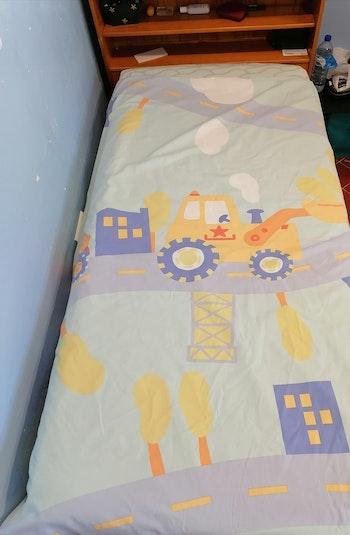 Parure de lit VertBaudet thème tracteur / 2 pièces