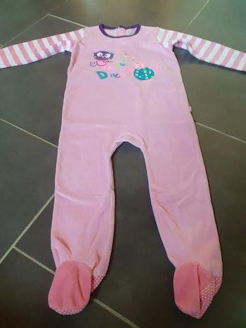 Pyjama grenouillère fille 3 ans petit beguin