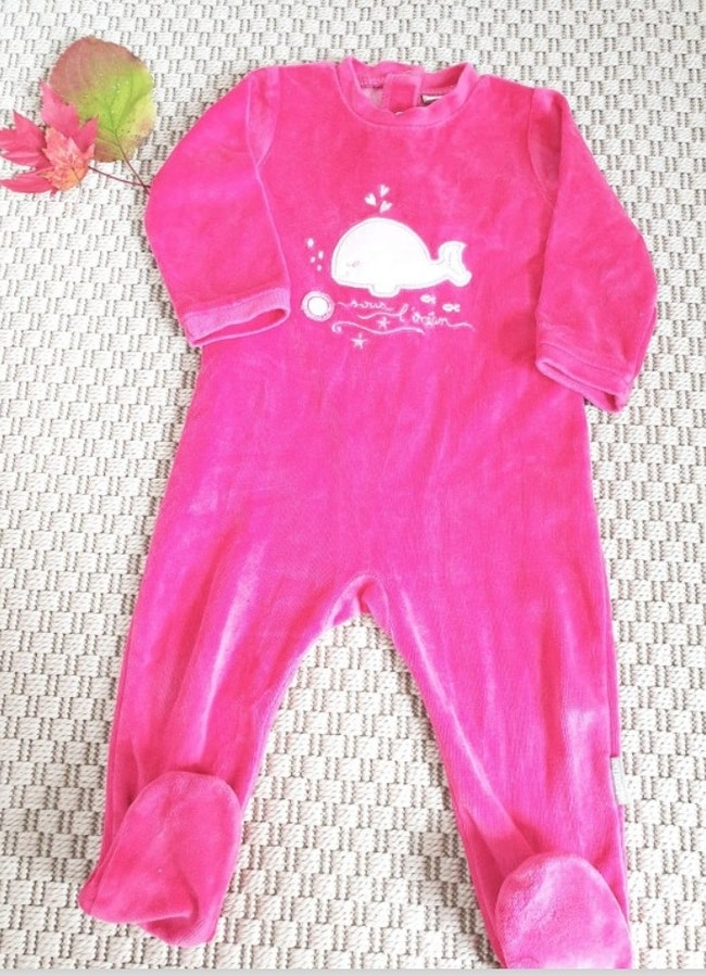 Pyjama velours 12 mois Absorba