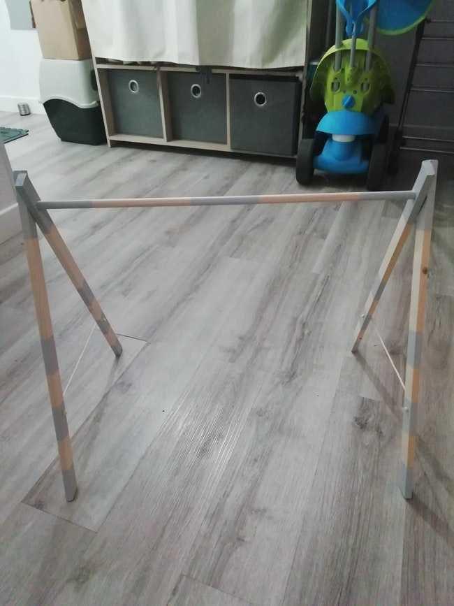Portique bois fait main
