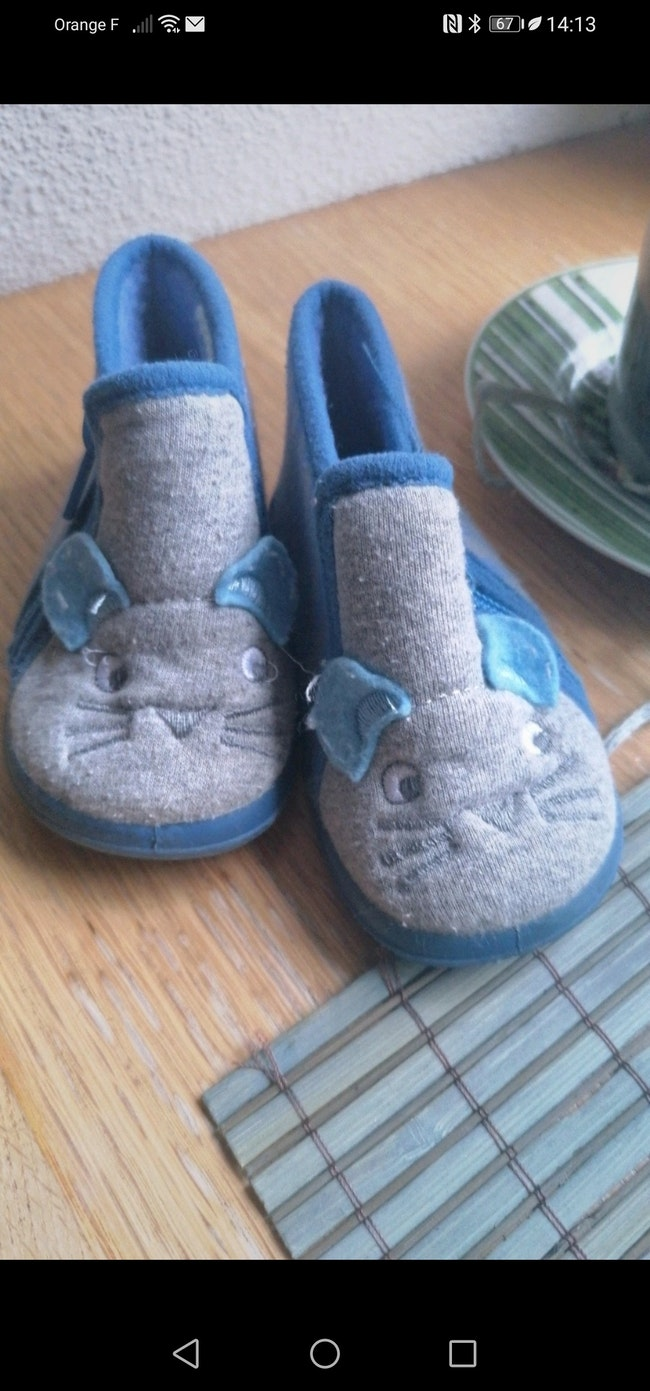 Chaussons taille 19