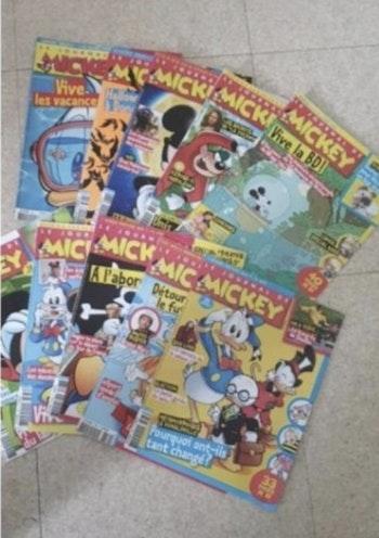 Lots 10 livres Mickey