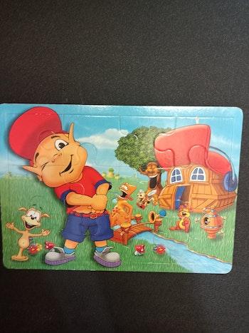 Puzzle 12 pièces Adibou