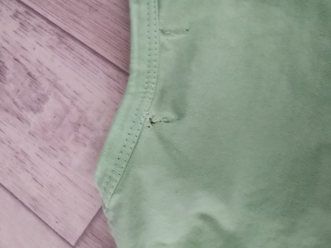 T shirt manches longues Barbouillage 23 mois