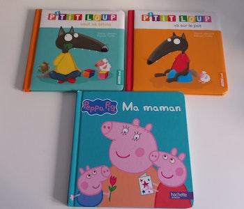 Lot de 3 livres pour enfants 2/3 ans