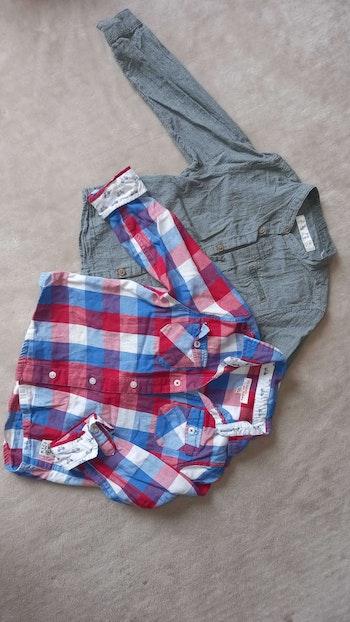 2 Chemises garçon