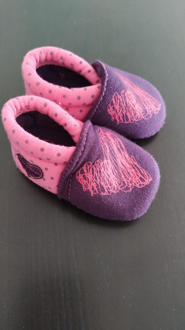 Chaussons taille 0-3mois