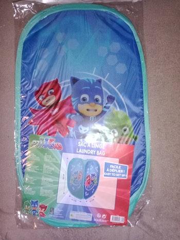 Panier à linge jouets rangement pjmasks pyjamasques