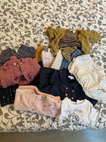 Lot vêtements taille 6 mois