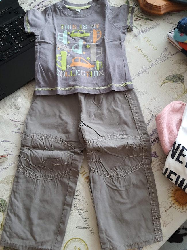 Tee shirt +pantalon