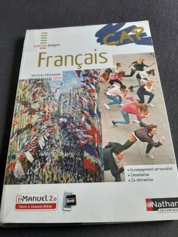 Livre 📖  titre : CAP Français