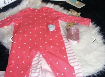Vertbaudet Lot de 3 pyjamas bébé en jersey - fille taille 36 mois, chaussons ballerines Disney et boi^te à dents de lait