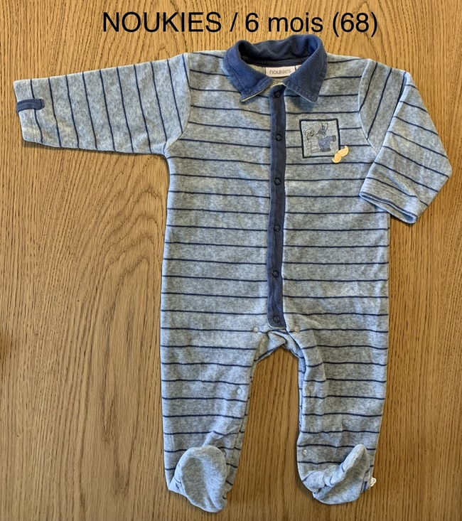 Noukies / pyjama / garçon / 6 mois
