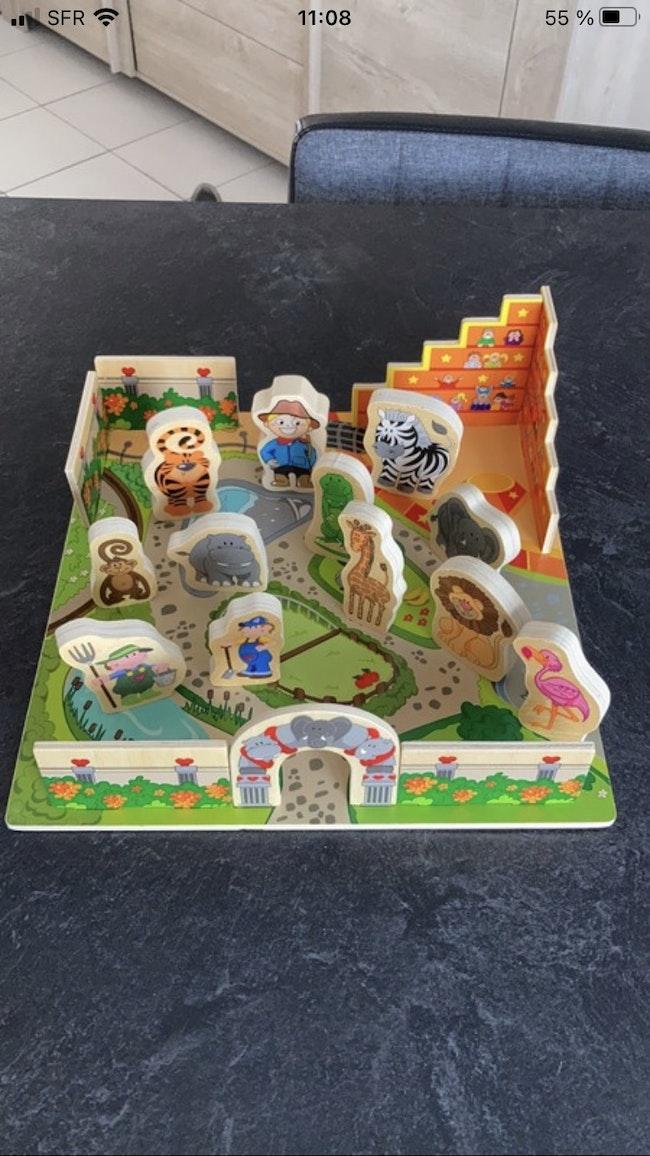 Jeux en bois zoo