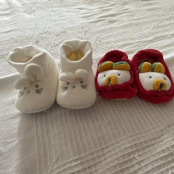 2 paires de Chausson Kiabi