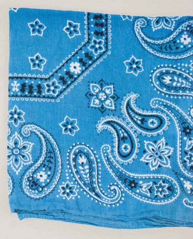 Bandana bleu Azur