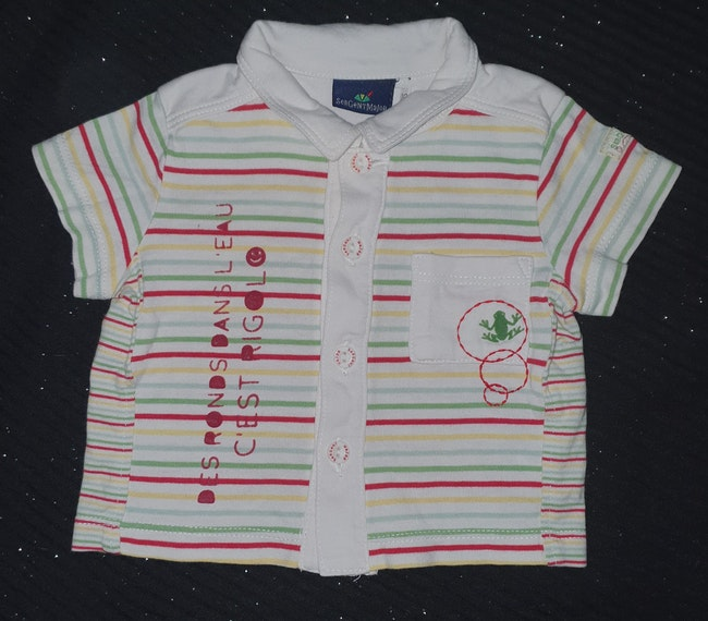 Tee-shirts chemise 0-3 mois