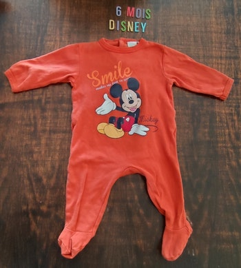 Pyjama Mickey 6mois