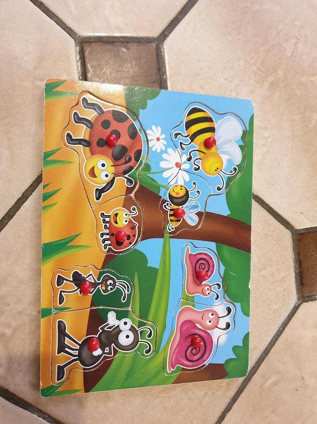 Puzzle animaux maman/bébé
