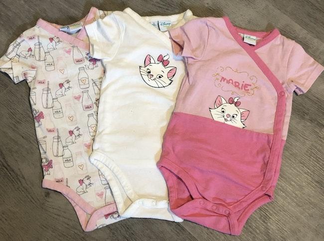 Lots de 3 bodies bébé fille Disney