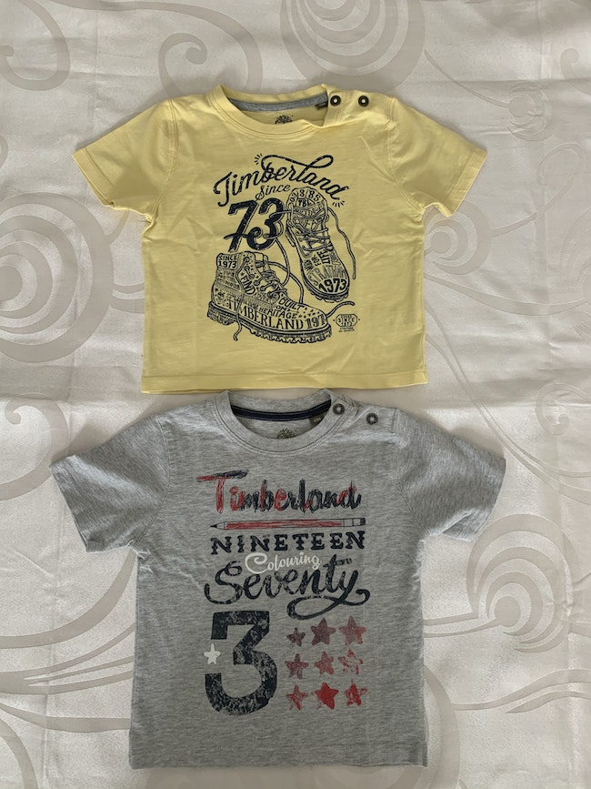 Tee shirt Timberland taille 2 ans
