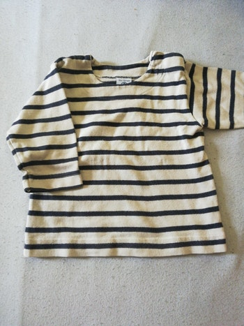 Tee-shirt manches longues Petit Bateau 6 mois