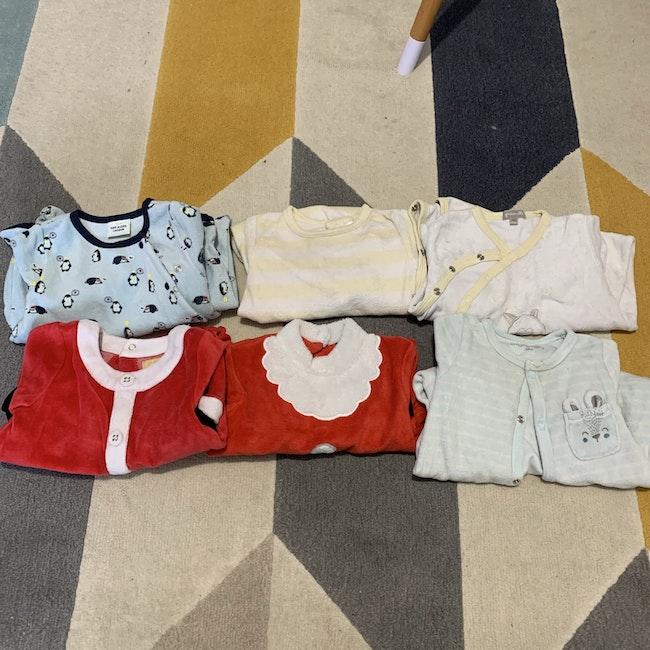 Pyjama velour 6 mois
