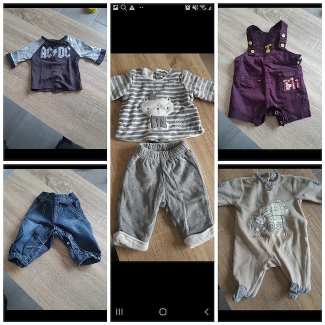 Vêtements garçon 1 mois