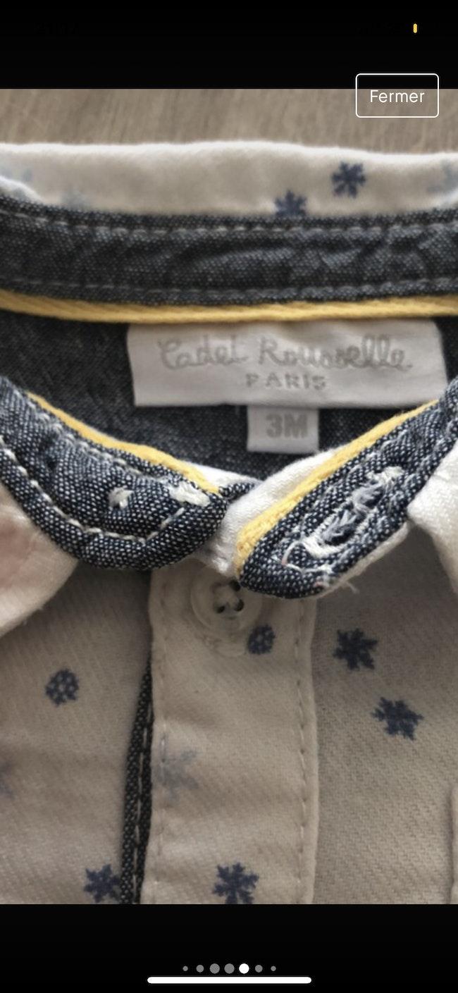 Ensemble Cadet Rousselle 3 mois