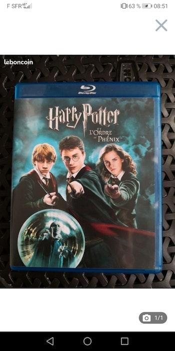 Blue ray Harry Potter